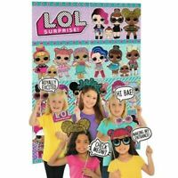 LOL Surprise Birthday Scene Setter Wall Decoration Kit Backdrop With Props