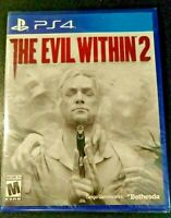 The Evil Within 2 (PS4) Brand New Factory Sealed Playstation 4 - Fast Ship