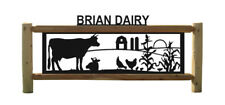 Barns-Cows-Fence-Farm & Ranch-Country Living-Cow-Gifts-Farm Animals