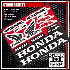 MICRO SPONSOR STICKER DECAL HONDA CBR 1000 RR WING MOTORCYCLE MOTOBIKE LOGO