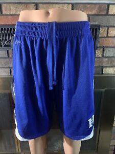 Vintage Duke Blue Devils NCAA Team Basketball Gym Shorts Mens Size Large Vtg