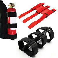 Auto Car Fire Extinguisher Fixing Holder Bracket Belt Strap For Automobile Jeep