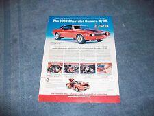 1969 Franklin Mint 1/24 Scale Chevy Camaro Z/28 Ad
