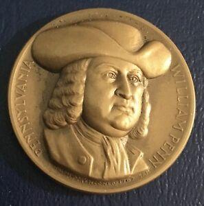 Medallic Art Co. Statehood Pennsylvania William Penn Coin Medal
