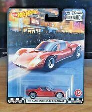 Hot Wheels 69 Alfa Romeo 33 Stradale, Hot Wheels Boulevard, Brand New, Premium