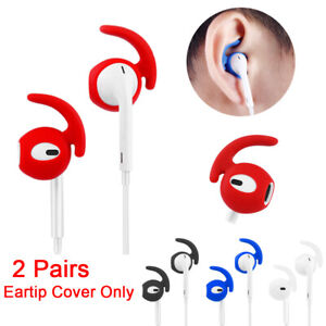 Earphone Tips Silicone Case Cover Earbud Anti Slip For Airpods iPhone Earpods