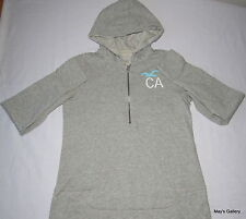 Hollister Hoodie Sweatshirt Cap Hoodies Fleece T shirt  A & F Blouse Tee NWT L
