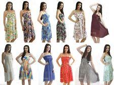Chiffon Petite Floral Sleeveless Dresses for Women