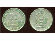 SRI LANKA   25 cents 1994