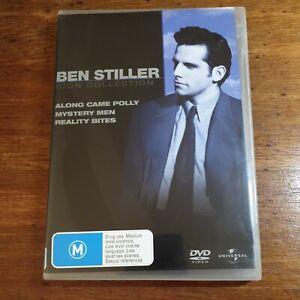 Ben Stiller Icon Collection DVD R4 Along Came Polly Mystery Men Reality Bites