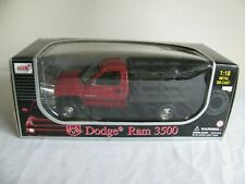 Anso 1/18 Scale Dodge Ram 3500 Dually Stake Bed Truck #30382 NIB