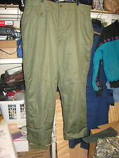 L@@K Rare! WWII WL-1 Heavy Flying Trousers US Navy circa 1945-1948 Size Large