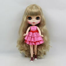 """12"""" Neo Blythe Doll Matte Face from Factory Special Body Nude Doll 71003"""