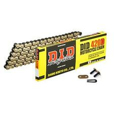 DID Std Gold Chain 420 / 106 links fits Honda MSX125 (Grom 125) 13-16