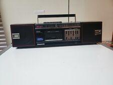 Panasonic Rx-Fm49 Am Fm Cassette Player Radio 80s Boombox Ghetto Blaster