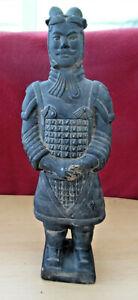 Vintage Chinese Terracotta Army Soldier Warrior Figurine - 22cm tall