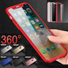 For iPhone 8 7 5 6 Plus XS Max Bumper Shockproof Silicone Protective Case Cover