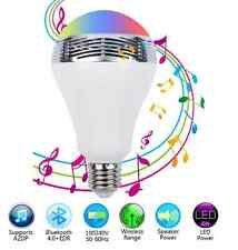 E27 3W AC110-240V Bluetooth Smart LED Bulb Speaker