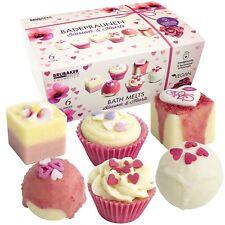 BRUBAKER Boules de bain 'Blossom & Hearts' - 6 Pièces - Coffret cadeau - Vegan