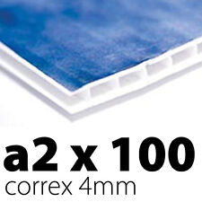 A2 4mm Corex x 100 Sign Boards | Printed UV Full Colour | Free Delivery!