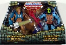 *DAMAGED PACKAGE* Masters of the Universe Laser Power HE-MAN & SKELETOR MOTU