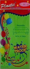 """54"""" x 108"""" Plastic Table Cover Tablecloths Birthday Wedding Party Supplies"""