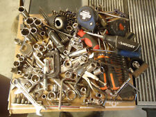 LARGE LOT OF TOOLS WRENCHES SOCKETS PLIERS & OTHER TOOLS