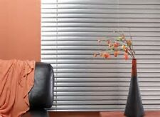 "Graber Mini Blinds 1 "" Aluminum Texture (brushed nickel) new 30 3/4 X 34 1/2"""