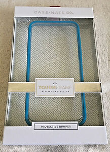 CASE-MATE TOUGH FRAME PROTECTIVE BUMPER FOR iPHONE 6, 6s ALSO FITS iPHONE 7 Blue