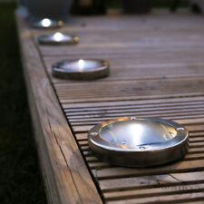 Modern Glass Solar Outdoor Floodlights & Spotlights