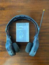 Vintage KOSS HR110 AM/FM Stereo Radio Headset Headphones, Digital Tuning, DBBS