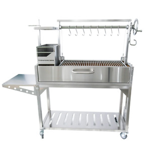 Premium Argentine Gaucho Stainless Steel Grill - Tagwood BBQ 03SS