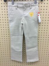 Cat & Jack Girl's Adjustable Waist School Uniform Pants (Pita Bread, Sz 4)