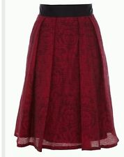 BNWT 🎀 COAST 🎀 Size 16 COZETTA  Red Evening, Cocktail, Cruise, Weddings SKIRT