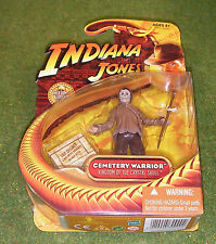 "INDIANA Jones cardato 3.75"" Regno del Teschio di Cristallo Cimitero Warrior"