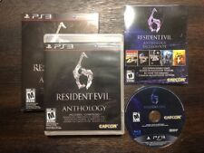 Resident Evil 6 : Anthology - Ps3 (Sony Playstation 3) Complete W/sleeve Cover !