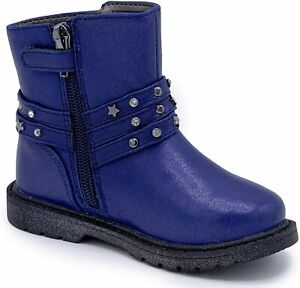 Naturino Express Bellisa Kids Girls Wraparound Buckle Ankle Boot Size 10C New