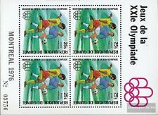 Guinea block45a (complete.issue.) unmounted mint / never hinged 1976 Olympics Su