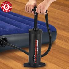 Handle Air Pump For Inflatable Bed Bag Mattress Girdles Portable Manual Black