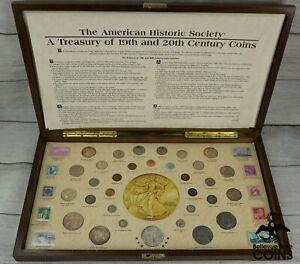 UNITED STATES TREASURY OF 19TH & 20TH CENTURY DESIGNS COIN SET (ASW 4.59oz)