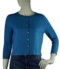 999b1d9b83e9d2 Boden kurze Bluse Pullover Strickjacke Damenpullover Gr M Baumwolle //0772/blue
