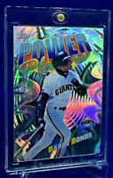 BARRY BONDS TOPPS POWER PLAYERS SP RARE PRISM RAINBOW REFRACTOR GIANTS