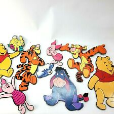 9 Winnie the Pooh Disney Wall Art Home Décor Nursery Kid Room Hard Board Cut Out