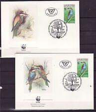 Austria1988 - FDC - Vogels/Birds/Vögel  WWF