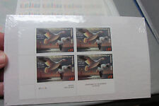 SNOW GEESE-Block of 4 $15 Migratory Bird 2004 Hunting and Conservation Stamps