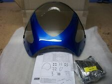 Suzuki GSF650/GSF1200 Bandit Sports Screen (Sports Visor) Blue -New with Fixings