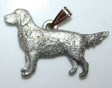 Golden Retriever Dog Harris Fine Pewter Pendant Usa Made