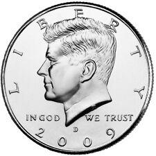 2009 KENNEDY HALF DOLLAR P or D MINT BRILLIANT UNCIRCULATED 1-COIN