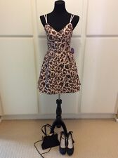 Women WINDSORS Homecoming/Prom/Formal Blush & Black Embroidered Dress SIZE 5,9