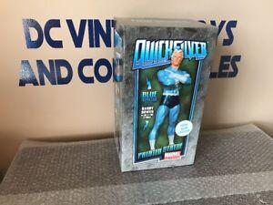 Bowen Designs Quicksilver Total Blue Exclusive Avengers Statue #182 /200